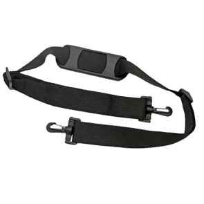 "Adjustable Shoulder Strap with Molded Pad and Plastic Swivel Snaphooks - 1.5"" wide"