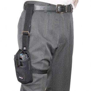Holster with Leg Strap, Retainer Flap & Multi-Position Belt Loop for MC70/75