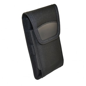 Holster with Top Flap and Metal Belt Clip for Bluebird EF500R