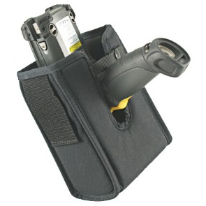 Holster, Left/Right Handed or Straight Out Use with Retainer Strap for Falcon X3+ Gun