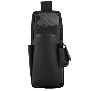 Holster with Clear Protective Flap and Multi-position Belt Loop for Intermec 700 with Antenna