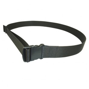 "Adjustable Nylon Waist Belt Open Ended with Keeper 2"" Wide"
