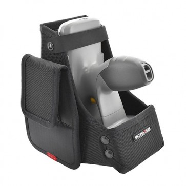 Holster with WaistPad for Zebra RFD8500 with iPhone Sled right side