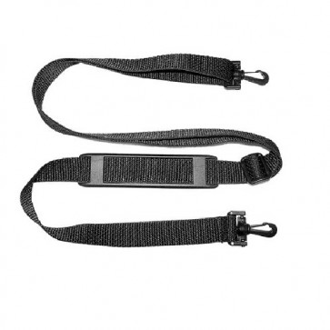 "Shoulder Strap with Molded Pad and Plastic Swivel Snap Hooks - 1"" wide"