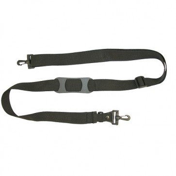 """Adjustable Shoulder Strap with Molded Pad, BreakAway Clip and Plastic Swivel Snap Hooks - 1.5"""" wide"""