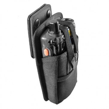Holster with Stainless Steel Swivel-D for MC70/75 w/Standard Battery