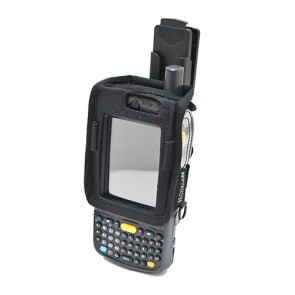 EasyCharge OP Case with Rugged Cell Clip for MC75 Front View
