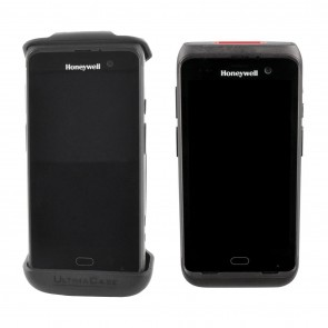 Rigid Healthcare Holster with Rotating Belt Clip for Honeywell CT40 XP without Exoskeleton