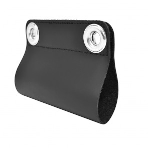Leather Handle Cover for Zebra Motion F5 Tablet to Allow the Use of a Shoulder Strap