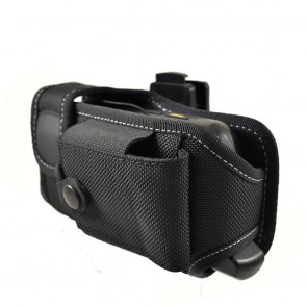 Horizontal Holster with Battery Pocket for Zebra MC55/65/67