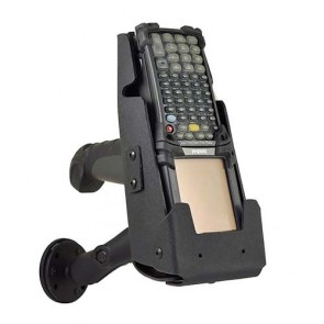 Zebra MC92NO vehicle Holster with Magnetic RAM Mount (MC9000G Series) with wall mount