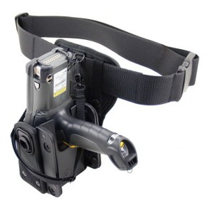Zebra MC9000 Series Molded Polypro Holster with Belt & RFID option