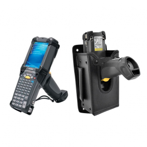 Mounted Holster with MC9190 Device