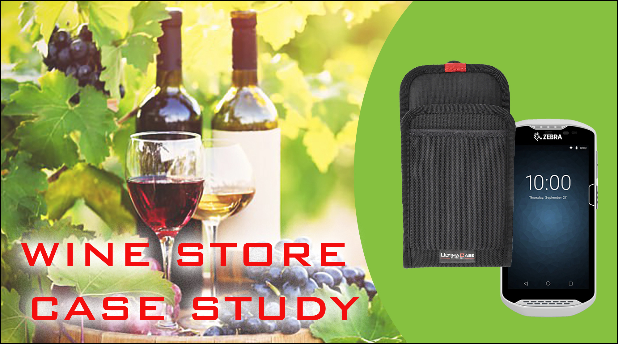 UltimaCase Designs Holster Solution for Liquor Superstore's Scanners